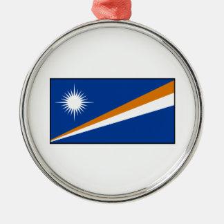Marshall Islands Flag Christmas Tree Ornaments