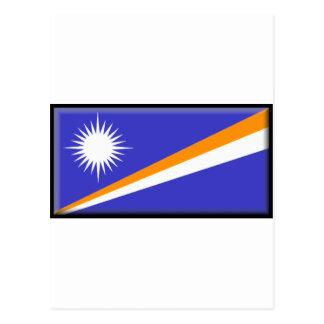 Marshall Islands Flag Postcards