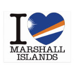Marshall Islands Love v2 Postcard