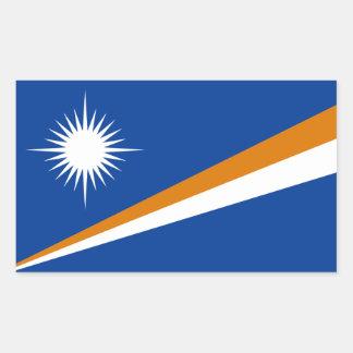 Marshall Islands/Marshallese Flag Rectangular Sticker