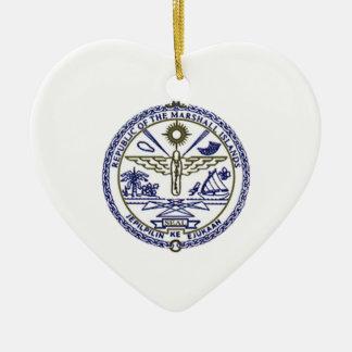 Marshall Islands National Seal Christmas Tree Ornament