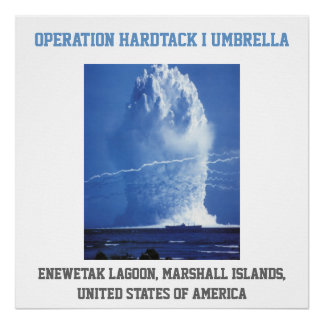 Marshall Islands UNITED STATES nuclear test Print