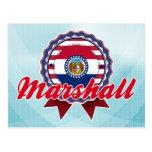 Marshall, MO Post Card
