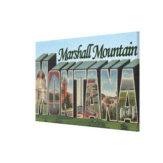 Marshall Mountain, Montana Canvas Print