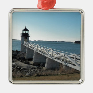 Marshall Point Lighthouse 5 Christmas Ornament