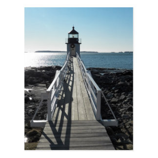 Marshall Point Lighthouse Postcard