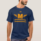 Marshfield High Winged Foot, Gold T-Shirt