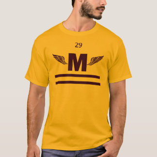 Marshfield High Winged Foot, Purple T-Shirt