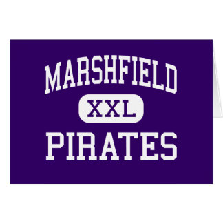 Marshfield - Pirates - High - Coos Bay Oregon Greeting Cards