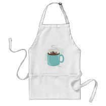 Marshmallow Friend Time Standard Apron