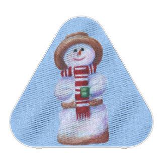 Marshmallow Snowman Speaker
