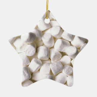 marshmallows christmas ornament