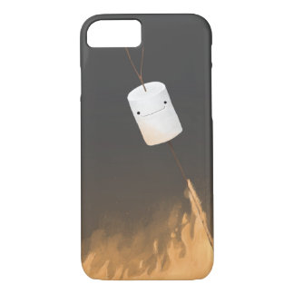 Marshmallows on fire iPhone 7 case