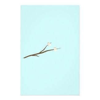 Marshmallows on stick 14 cm x 21.5 cm flyer
