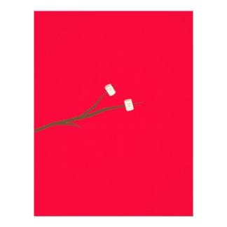 Marshmallows on stick 21.5 cm x 28 cm flyer
