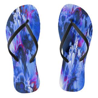 Marshmellow Skies (blue) Flip Flops