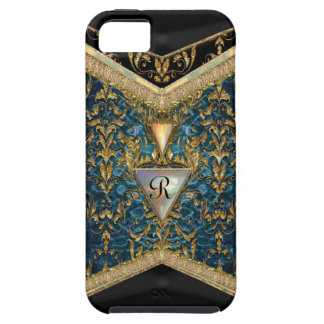 Marshwell Cordell Victorian Girly Pattern Monogram iPhone 5 Case