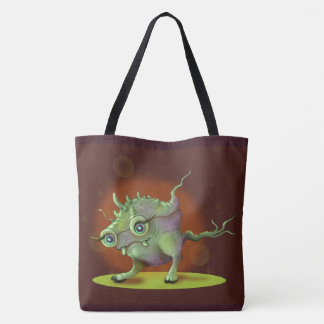 MARSIO ALIEN MONSTER AllOver-Print Tote Bag Large