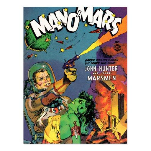 Marsmen Post Card