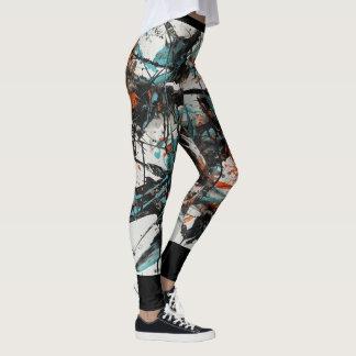 Marta Abstract Painting 4 Leggings