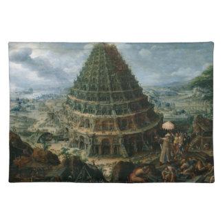 Marten van Valckenborch- The Tower of Babel Placemat