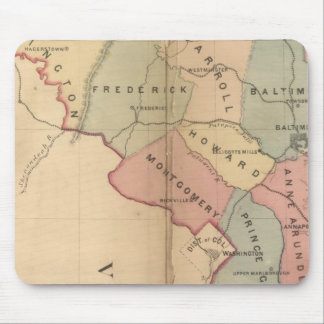 Martenet's Map of Maryland, Atlas Edition Mouse Pad