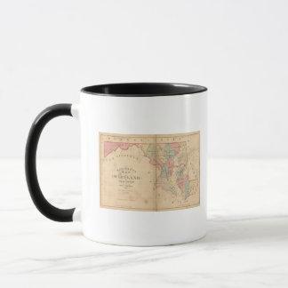 Martenet's Map of Maryland, Atlas Edition Mug