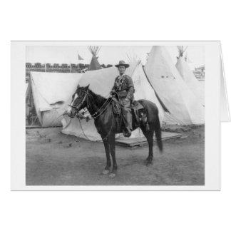 "Martha Canary ""Calamity Jane"" on Horseback Card"