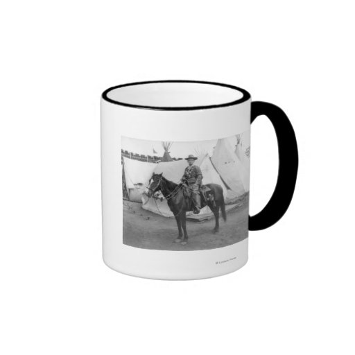 "Martha Canary ""Calamity Jane"" on Horseback Coffee Mugs"