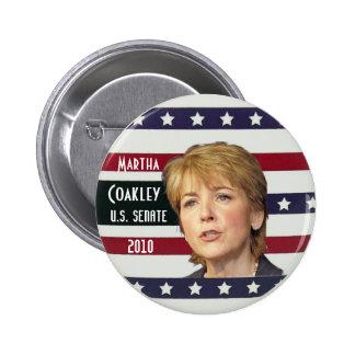 Martha Coakely Senate button