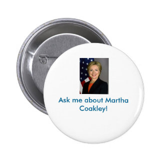 Martha Coakley button