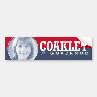 MARTHA COAKLEY CAMPAIGN BUMPER STICKER