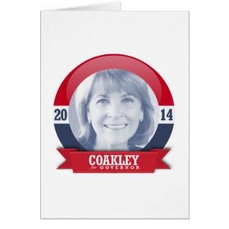 MARTHA COAKLEY CAMPAIGN CARD