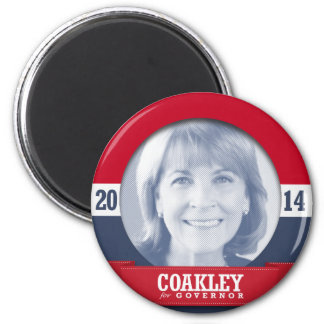 MARTHA COAKLEY CAMPAIGN FRIDGE MAGNET