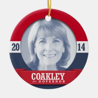 MARTHA COAKLEY CAMPAIGN ORNAMENT