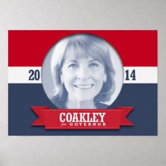 MARTHA COAKLEY CAMPAIGN POSTER