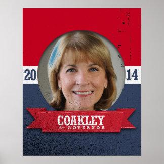 MARTHA COAKLEY CAMPAIGN PRINT