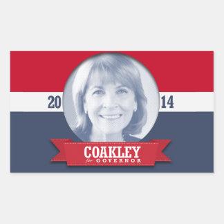 MARTHA COAKLEY CAMPAIGN STICKERS