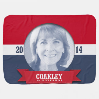 MARTHA COAKLEY CAMPAIGN SWADDLE BLANKETS