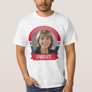 MARTHA COAKLEY CAMPAIGN TEE SHIRT