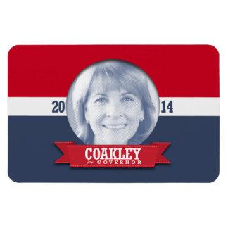 MARTHA COAKLEY CAMPAIGN VINYL MAGNET