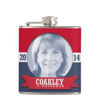 MARTHA COAKLEY CAMPAIGN FLASKS
