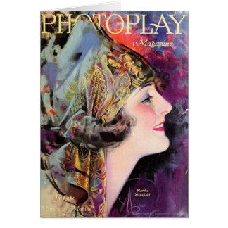 Martha Mansfield, Photoplay July 1920 Card