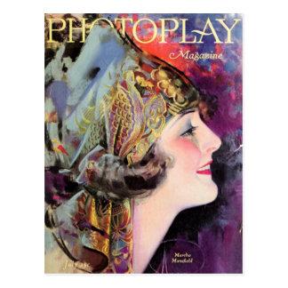 Martha Mansfield, Photoplay July 1920 Postcard