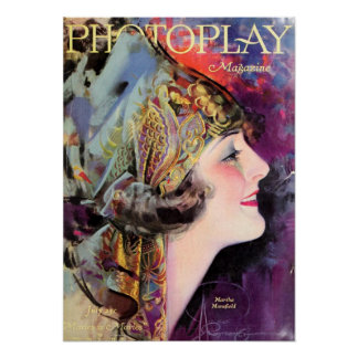 Martha Mansfield, Photoplay July 1920 Poster
