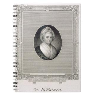 Martha Washington, engraved by James Barton Longac Notebooks