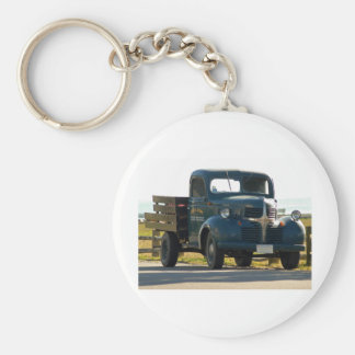 Marthas Vineyard 47 Basic Round Button Key Ring