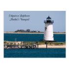 martha's Vineyard, Edgartown Lighthouse Post Card