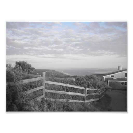 Martha's Vineyard in black and white Art Photo