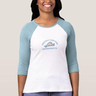 "Martha's Vineyard ""Map"" Design. Shirts"